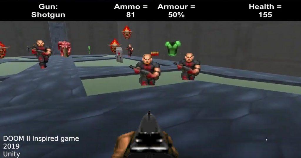 Doom 2 Unity Clone